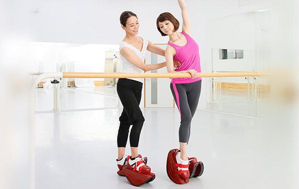 ダンサーの身体強化、動きのクオリティアップに
